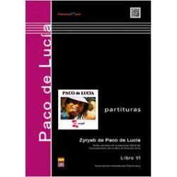 Zyryab de Paco de Lucía. Libro VI