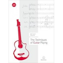 The techniques of guitar playing (incluye cd)
