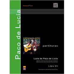 Luzia de Paco de Lucía. Libro VII