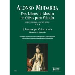 Tres libros de música en cifras para vihuela, vol. 1