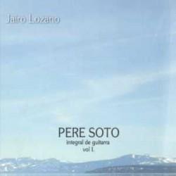Pere Soto. Integral de guitarra