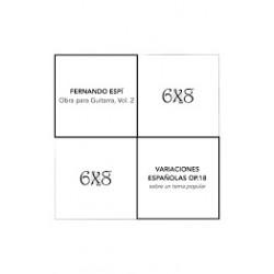 Variaciones españolas op. 18