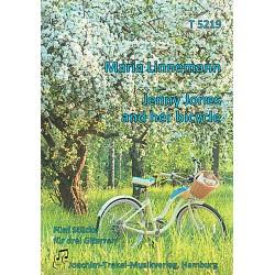 Jenny Jones and her bicycle