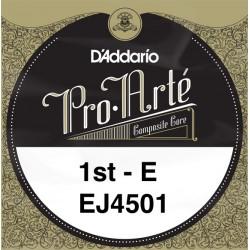 D'Addario Pro Arte E 1st J4501 - Media