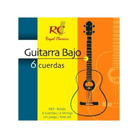 RC Strings Guitarra Bajo 6 Cuerdas