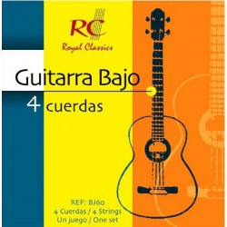 RC Strings Guitarra Bajo - 4 Cuerdas