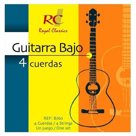 RC Strings Guitarra Bajo - 4 Cuerdas