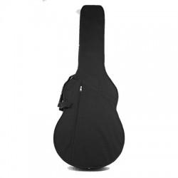 Estuche guitarra acústica Jumbo Foam negro
