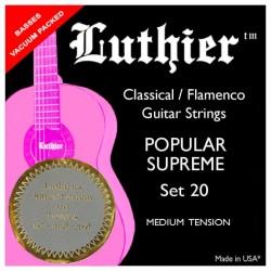 Luthier Set 20 Popular Supreme Super Carbon - Media