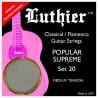 Luthier Set 20 Popular Supreme Super Carbon - Medium