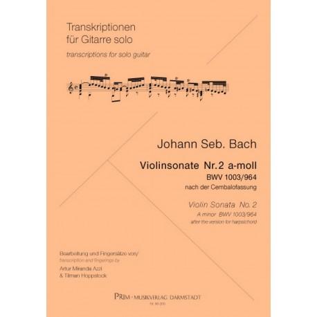 Violin Sonata n. 2 BWV 1003 / 964