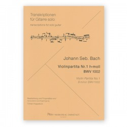 Violin Partita N. 1 B minor BWV 1002